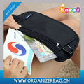Encai Wholesale Hot Sale Travel Waist Bags Leisure Money Belt Bag Passport & Money & Tickets Waist Pack