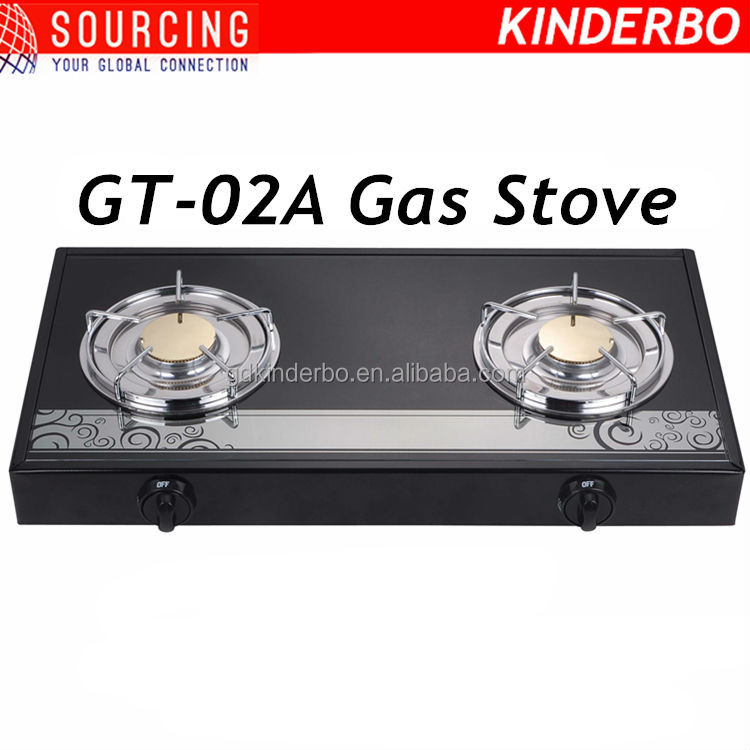 new model gas stove with glass top