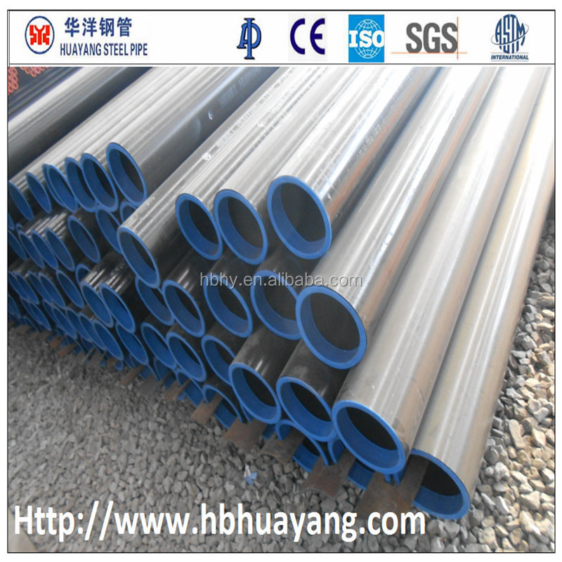 Manufactured Large Diameter Black HR ERW Steel Pipes for construction pipe clamp for large diameter pipe