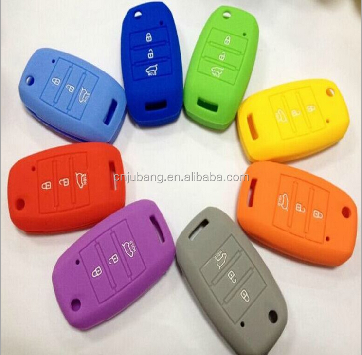 High quality Silicone smart car key protector case cover / smart car key case / Silicone Car Key Cover