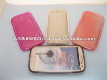 TPU S Line Mobile phone Case For Samsung galaxy s2 I9300
