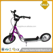 12 Inch Rubber Big Wheels Scooter/ Push Adult Kick Scooter