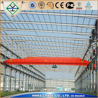 LZ Electric Single girder Cranes with Grab 3t /5t/overhead crane