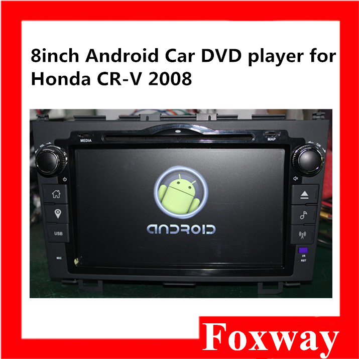 Foxway high quality 8Inch android car dvd player with FM Bluetooth stereo,gps navigation,wifi