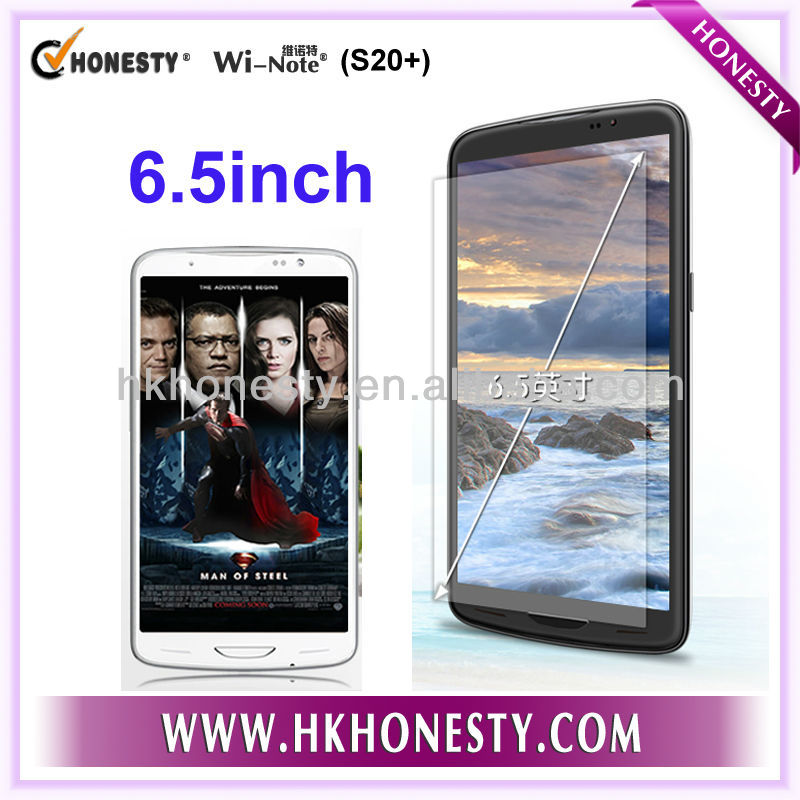 6.5 inch MTK6589 quad core android 4.2.2 smart mobile phone android phone cell phone