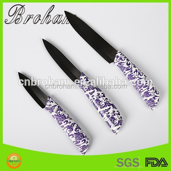 Safety knifes set kitchen with sheath