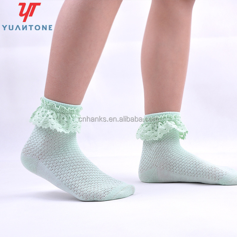 children socks, girls' lace socks