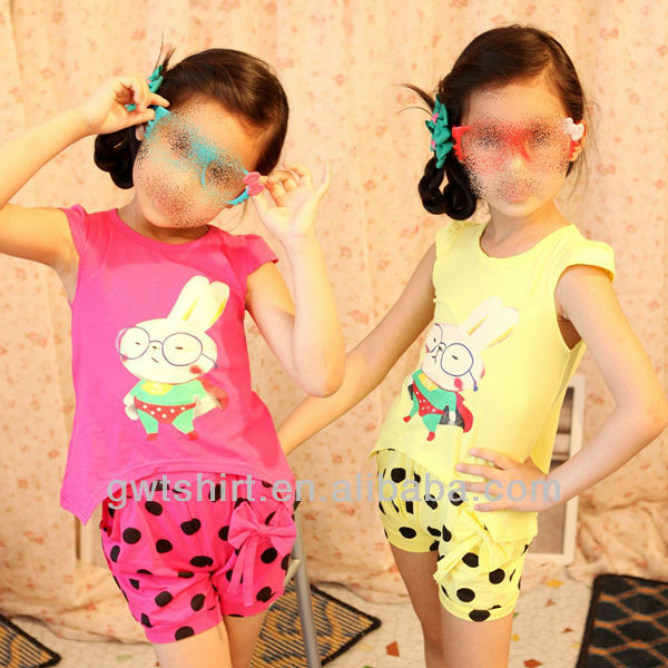 Korean design cotton fashion kids clothes 2013