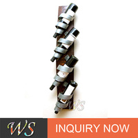 WS-R05 wall mounted metal decorative wine rack
