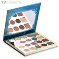 2018 new arrivals TZ cosmetix high pigment 20colors eyeshadow palette