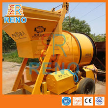 Factory direct sell JZM750 rotating drum cement mixer