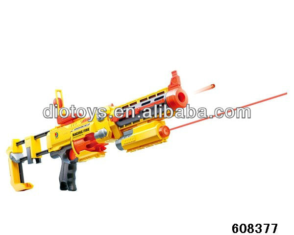 Plastic air tattoo gun for shooting game