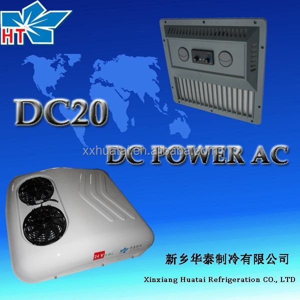 12 volt dc air conditioner cooling unit for truck/van electric air cooling systems DC20