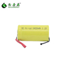 1.2V SC 3400mAh Power Tool battery flat top with tabs