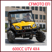 2016 new design 2 seat utility buggy 600cc UTV/ATV 4x4 with EEC side by side 4x4