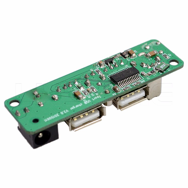 Support 3 port 2.0 usb hub flexible pcb design with charging and data transfer