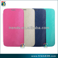 New business card leather case for samsung galaxy s4