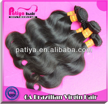 the Devil Style 100% Human Virgin Brazilian Hair AAAAA Body Wave