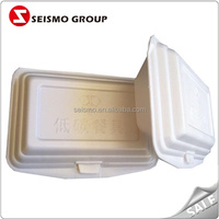 Delivery Fast Food Bio-degradable Greaseproof Food Foam Containers