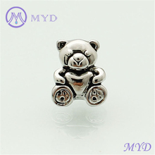 Plated jewelry metal beads fit for bracelets