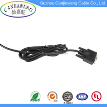 High Speed DB 9-Pin Female Plug VGA to RCA Cable with VGA Cable Screws