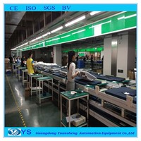LED computer display production line