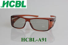 reusable stronger 3D glasses for 3d movies 3d tv made in china shenzhen