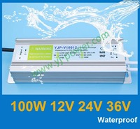 36V 100W Switching led power supply, 90~260V AC input 36v DC output led lights power supply, CE Rohs IP67 certificate