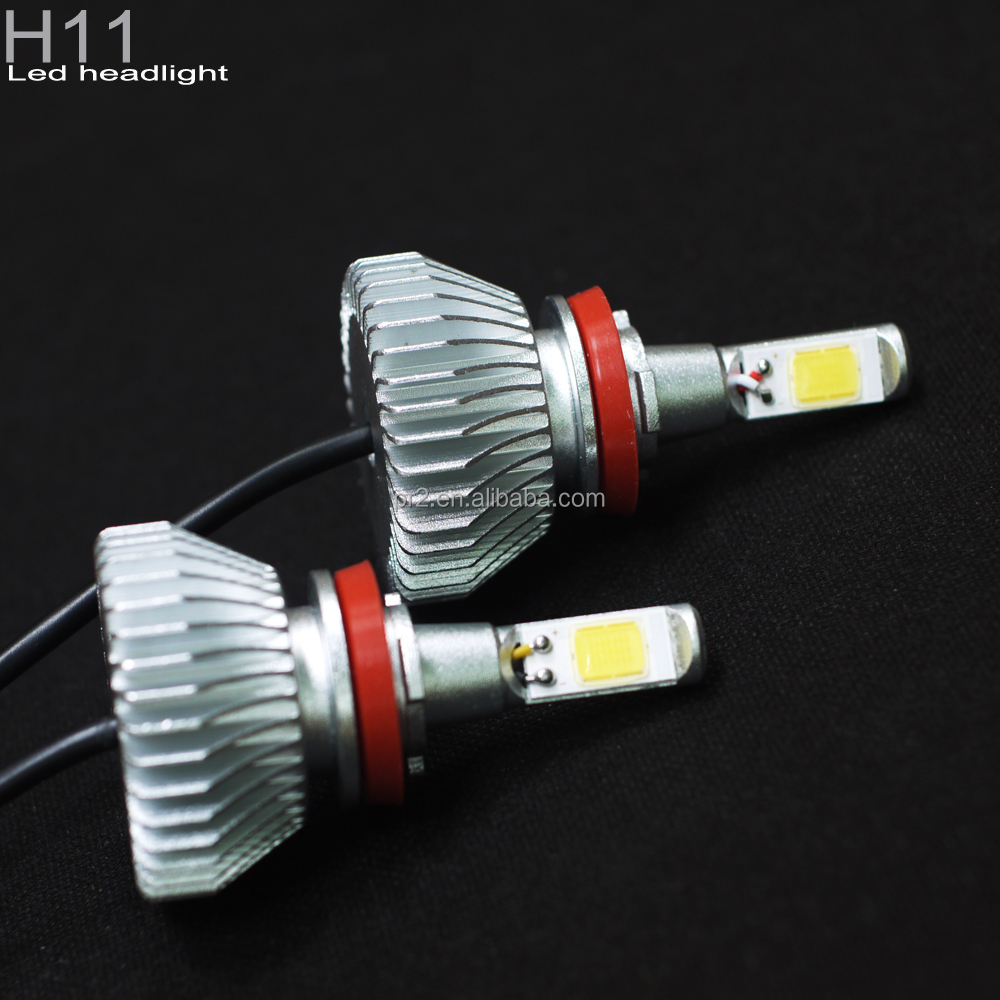 Auto systems headlight car led lighting wholesale H11 20W 2400LM CE ROHS