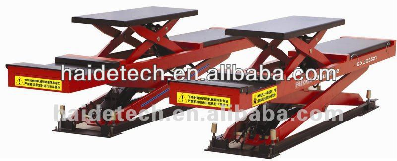 Workshop Equipment scissor lift with secondary alignment ce