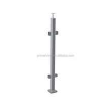 Steel Post Supports Stainless Steel balustrade Posts for Wire Railing System