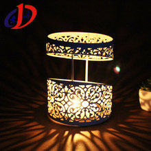 DH-022 European style roundness candlestick iron art decorative metal lantern stand