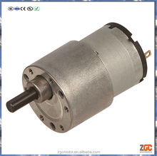 PM DC Spur Gear Motor 33mm,gear box OD37,12V/24V