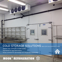 MOON CE blast freezing and chilling equipment in cold room
