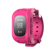 High quality Emergency GPS Tracker Safety Children Kids Smart Watch Q50 With SOS Phone Call lock / unlock