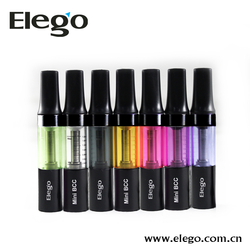 2014 Best Seller Bottom Changeable Coil Elego/Ismoka Mini BCC Atomizer