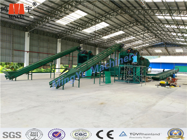Professional Hot sales high effecitive coconut oil palm fiber processing machine/fibre shell coir fiber extracting machine