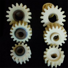 Precision plastic gear wheel for clock
