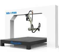 3D fiber laser cutting service robot arm with 6 axis for metal cutting