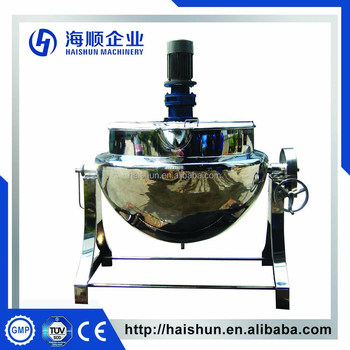500L Tilting Steam heating jacket kettle(CE)