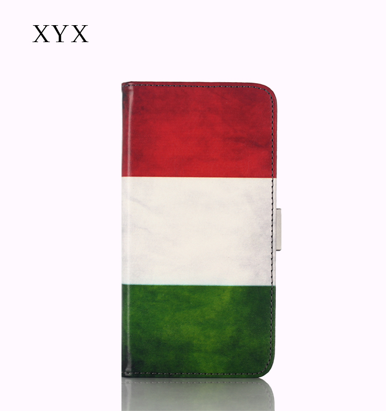flip cover for gionee m5, XYX unique design with customized painting, magnetic flip cover for gionee m5/ m5 plus
