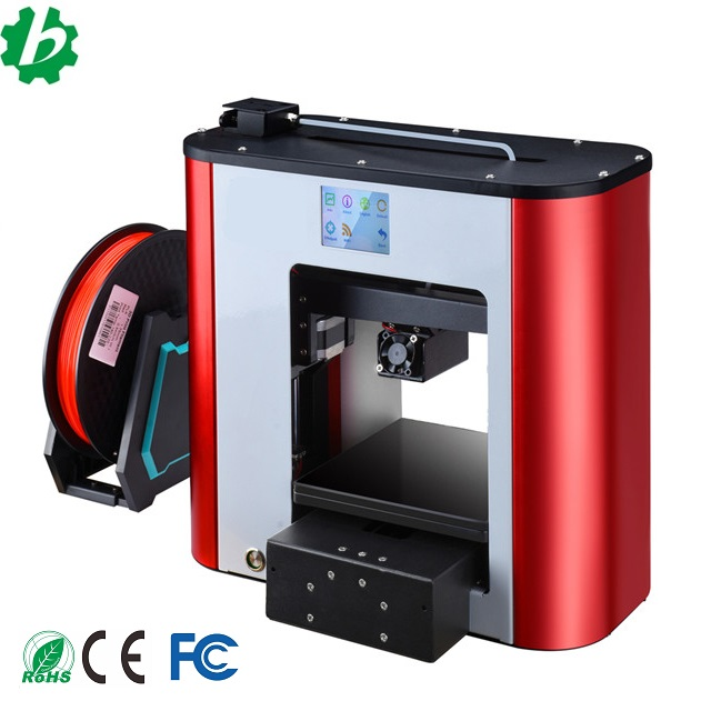 Small professional desktop 3D printer with LCD control <strong>screen</strong>