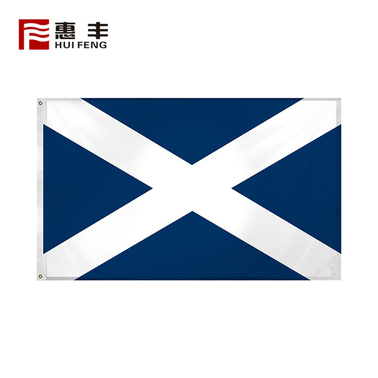 custom Scotland flags 3x5 , 3x5 custom made Scotland flag