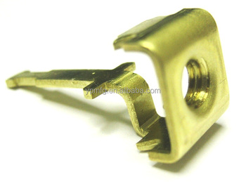 OEM stamping services for brass terminal part