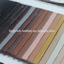 napa grain PU leather in stock fresh goods IN 160 colors