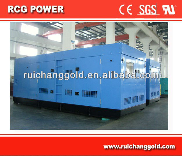 Powered by Perkins Engine Soundproof Genset--China Generator Manufacturer