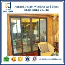 House aluminum sliding garden doors with roto hinges