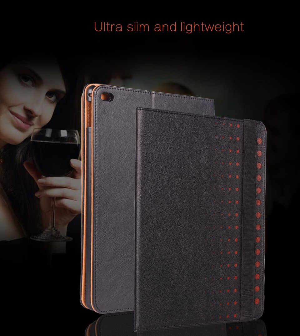 Popwide Hot Sale High Quality Leather/PU Case for Ipad