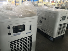 China OEM silent type 20kw generator set made in UK