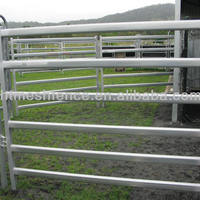 Heavy Duty Cattle Corral Panels Hot
